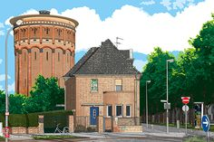 Krefeld Wasserturm