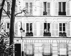 Girl in Window. Montmartre, Paris. @Etsy