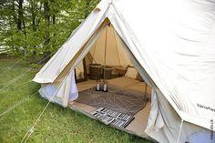 丈夫なノルディスクのテント
