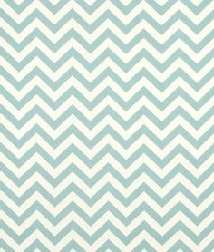 Village Blue and Natural Chevron with Chenille or Minky Boppy Cover. $25.00, via Etsy.