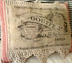 French Country pillow by Lilla on Etsy, $20.00