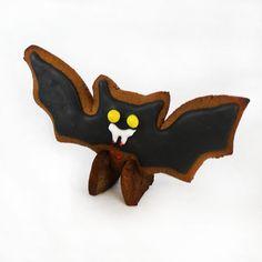 3D Bat Gingerbread cookie Template Digital PDF File.  FREE PDF DOWNLOAD