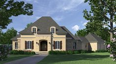 This 1 story Traditional features 2357 sq feet. Call us at 866-214-2242 to talk to a House Plan Specialist about your future dream home!