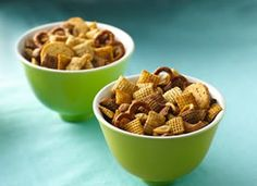CHEX MIX. The best snack