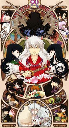 Image de inuyasha, kagome, and anime