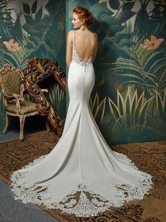 Blue by Enzoani wedding dresses in Sussex from Couture & Tiaras bridal shop. Shop for Blue by Enzoani bridal dresses in UK, Sussex. Wedding Day Dresses, Wedding Dress Prices, Wedding Dress Shopping, Designer Wedding Dresses, Bridal Dresses, Wedding Bride, Prom Dresses, Wedding Ideas, Blue Bridal
