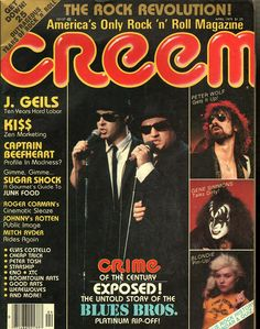 Image result for creem magazine 1980