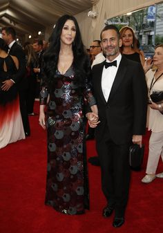 "Red Carpet Watch: Met Gala 2015 - Cher and Marc Jacobs - ""This has been a dream of mine for a very, very long time,"" Mr. Jacobs said.  It is Cher's first appearance at the Met Gala since 1997, when she arrived on the arm of Donatella Versace.  – MATTHEW SCHNEIER 