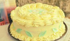 Tort cu crema de lamaie Cake Cookies, Cupcake Cakes, Cupcakes, Fresh Fruit Tart, Different Cakes, Something Sweet, Cookie Decorating, Decorating Ideas, Vanilla Cake