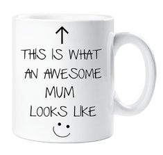 Awesome Mum Mug This is What an Awesome Mum by TheWallStickerComp