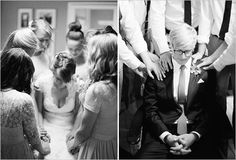 wedding party praying over the bride and groom before wedding...love the idea and the shot :)