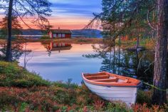 ***Cabin in October (Norway) by Daniel Herr