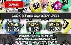 MIMPI4D.COM || Salah Satu Situs Togel Online Terbaik Se Indonesia, Situs Tersebut Menyediakan Bermacam - Macam Bonus yang besar. Selain itu Deposit hanya Minimal  Rp 20.000 ( MAINKAN SEKARANG JUGA )