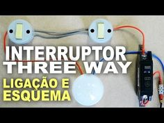 Como ligar interruptor Paralelo - Three Way - YouTube