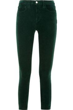 L'Agence | The Margot stretch-corduroy mid-rise skinny jeans | NET-A-PORTER.COM