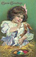 Старинные пасхальные открытки.
