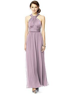 Twist Wrap Dress w/ Chiffon Overskirt: Long http://www.dessy.com/accessories/twist-dress-chiffon-overskirt-long/