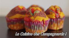 Muffins Arc-En-Ciel !
