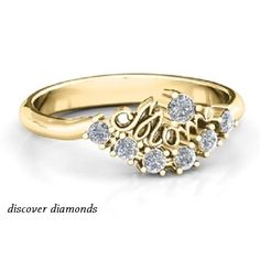 1.25 Ct Diamond 14k Yellow Gold Mother's day Great Gift For Mom Ring Certified #DiscoverDiamond #Solitaire