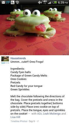 For preschool snacks