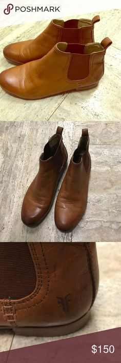 Frye Jillian Chelsea Boots Beautiful boots in great condition. Beautiful color! Only worn once. Very easy to get on and not tight around ankle like some Chelsea style booties. No trades. Frye Shoes Ankle Boots & Booties