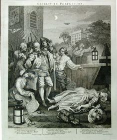 William Hogarth The Four Stages of Cruelty: Cruelty in Perfection 1 February 1751 Etching and engraving 380 x 320 mm Courtesy Andrew Edmunds, London Thomas Gainsborough, William Hogarth, Joseph Mallord William Turner, William Blake, London History, Canvas Art, Canvas Prints, Art Sites, Art Google