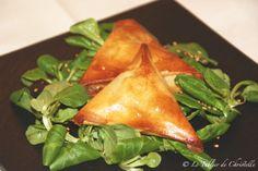 recette - Samossas de Saint-Marcellin - radis rose http://magazine.radisrose.fr/saint-marcellin/ #fromage