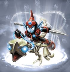 fright rider skylanders - Google Search