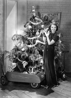 Janet Gaynor, Christmas, 1930s