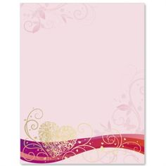 Summer Love Specialty Border Papers | PaperDirect