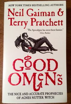 Good Omens - by Neil Gaiman & Terry Pratchett. An unexpected gift from a dear friend. I can't WAIT to read it. Thank you, Katie. ❤️