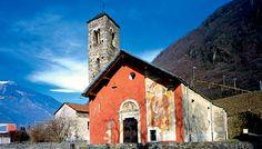 """Chiesa di S. Paolo """"Chiesa Rossa"""", Arbedo (Bellinzona)"""