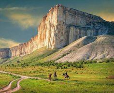 Белая скала Ак-Кая, Крым