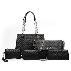 Finish your look with Divas Fashions latest collection of ladies bags online South Africa . Ladies Five Piece Argyle Handbag Sets Whether you are after a cross body style to carry all your daily essentials or the perfect night out clutch Diva Fashion, Online Bags, Night Out, Latest Fashion, Shoulder Bag, Lady, Collection, Style, Swag
