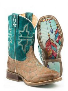 Tin Haul Youth Flaming Hot Boots