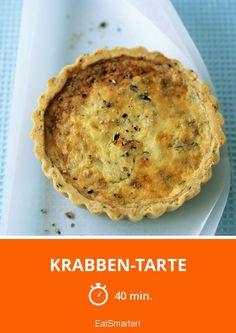 Krabben-Tarte