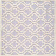 Safavieh Cambridge Kirsten Hand-Tufted Wool Area Rug, Purple