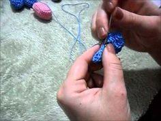 ▶ Passo a Passo Lembrancinha Maternidade em Croche - YouTube