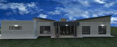 4 Bedroom House Plan - My Building Plans South Africa My Building, Building Plans, 4 Bedroom House Plans, Double Garage, Modern House Design, Mj, South Africa, How To Plan, Mansions