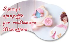 STAMPI STANTUFFO PER BISCOTTONI - Molds for Cookies