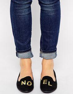 New+Look+Loel+Noel+Novelty+Flat+Shoes