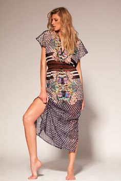 Disco, beach dress, www.divaswim.com