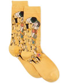 Hot Sox Trouser with Artist Print #Socks - Handbags & Accessories - Macy's - these are a little tight around the top so if you have really wide calves these are not for you. So cute, though!