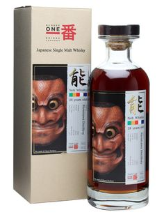 Karuizawa 1983 / 28 Year Old / Noh Cask #7576 : Buy Online - The Whisky Exchange - Another great single cask Karuizawa from No.1 Drinks. A sherry matured entry in the 'Noh' range of bottlings, complete with beautiful label featuring the mask of Chorei Beshimi from the 17th century.
