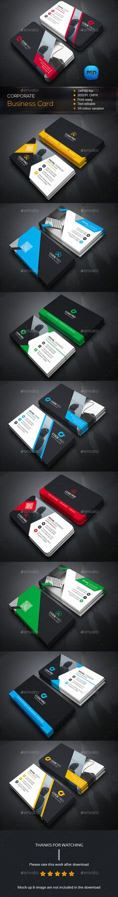 Personal Business Card Bundle — Photoshop PSD #pack #print • Available here → https://graphicriver.net/item/personal-business-card-bundle/14576815?ref=pxcr