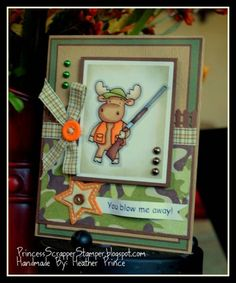 Hunting Riley Hop by Princessheather - Cards and Paper Crafts at Splitcoaststampers