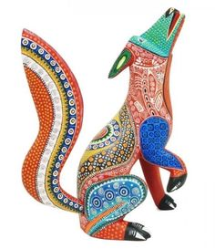 ♣️♥️♦️♠️ART : OAXACAN WOOD CARVINGS / ZAPOTEC / ALEBRIJES / MEXICAN WOOD CARVINGS♦️♥️♣️More Pins Like This At FOSTERGINGER @ Pinterest ♠️♥️♦️♣️