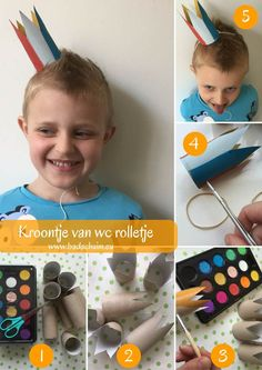 Kids Crafts, Arts And Crafts, Recycled Materials, Diy For Kids, Diys, Recycling, Activities, Play, Carnival