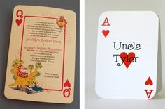 Mad Hatter place cards