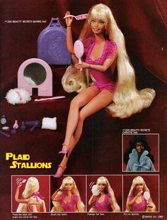 Modèle type de Barbie années 80'